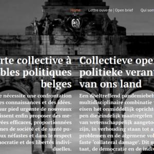 27 août 2020 : Lettre ouverte aux responsables politiques : Il est urgent de revoir la gestion de la crise Covid-19