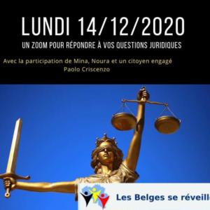14 décembre 2020 à 20 h : posez vos questions à Paolo Criscenzo, citoyen debout et engagé