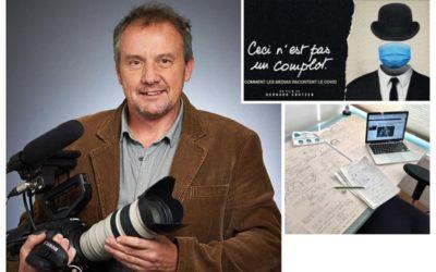 DOCUMENTAIRE  belge – Bernard Crutzen : «ceci n'est pas un complot»