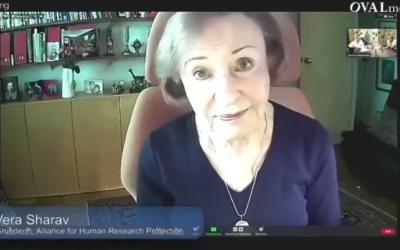 VERA SHERAV – Entretien avec R. Fuellmich – Holocauste mondial ? – RETRANSCRIPTION
