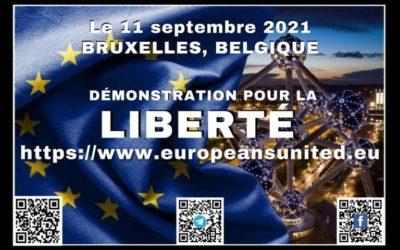 ACTION EUROPE – 11/09 – 15h – Bruxelles